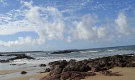 Cabo de Santo Agostinho - Cabo de Santo Agostinho-PE-Praia Pedra do Xaréu-Foto:zecamarx@