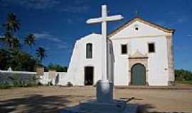 Cabo de Santo Agostinho - Igreja de N.Sra.de Nazaré em Cabo de Santo Agostinho -PE-Foto:Mauricio F. Pinho