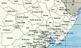 Catu - Mapa de Localização