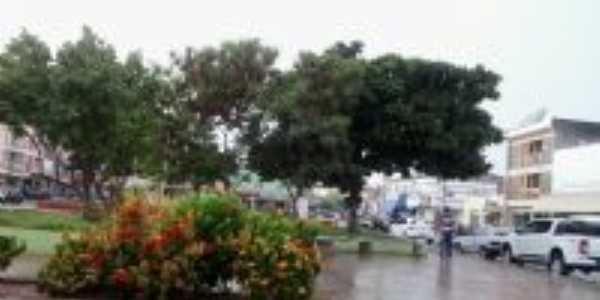 CENTRO DE CABROBÓ NUM DIA DE CHUVA, Por CAMILA