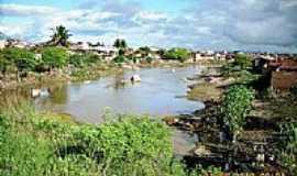Cachoeirinha - Rio Una e a cidade de Cachoeirinha-Foto:Washington@silva