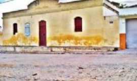 Canhotinho - Antiga construção canhotiense - atual delegacia, Por Cícero Dunga de Albuquerque Junior