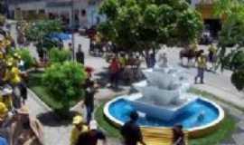 Canhotinho - Praça Padre Josias - Centro da cidade, Por Cícero Dunga de Albuquerque Junior