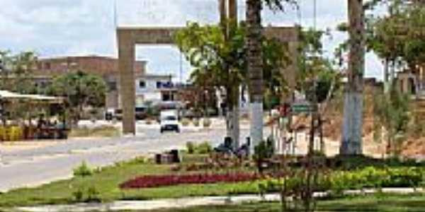 Entrada da cidade de Canhotinho-PE-Foto:Elio Rocha