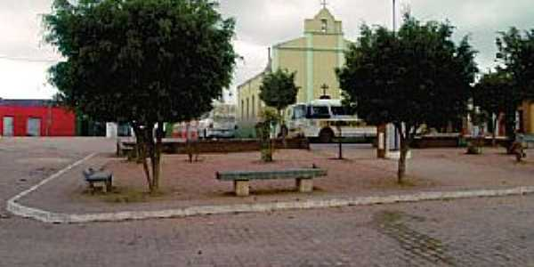 Caraíba-PE-Praça central e Matriz-Foto:arcoverde.pe.gov.br