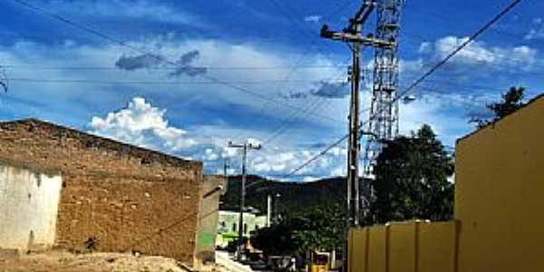 Caraíba-PE-Rua do Povoado-Foto:Novais Almeida