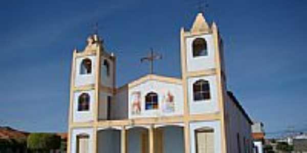Igreja de São Sebastião em Caturama-BA-Foto:Vicente A. Queiroz
