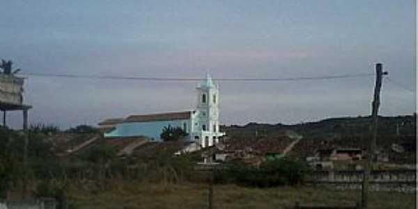 Cimbres-PE-Vista do centro com a  Paróquia de N.Sra.das Montanhas-Foto:Facebbook