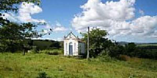 Capela às margens da BR-424-Foto:Elio Rocha