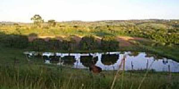 Lago área rural-Foto:Elio Rocha