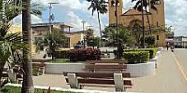Praça Virgínia Heráclio em Cumaru-Foto:Sergio Falcetti