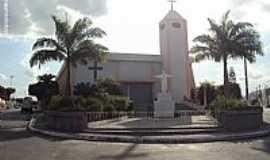 Cupira - Igreja de S�o Jo�o Batista em Cupira-PE-Foto:Sergio Falcetti