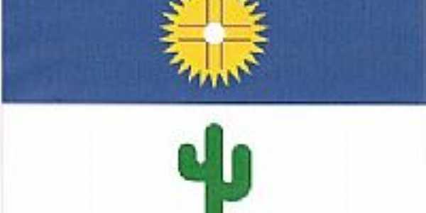 Bandeira da cidade de Custódia-PE