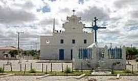 Chorrochó - Igreja Matriz de Chorrochó-BA-Foto:guiabr.net