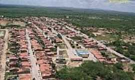Chorrochó - Vista aérea de Chorrochó-BA-Foto:sertaoafora.