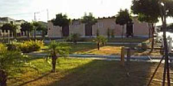 Praça de Chorrochó-BA-Foto:radioliderdosertaofm.