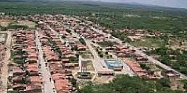 Vista a�rea de Chorroch�-BA-Foto:sertaoafora.