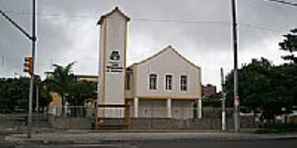 Igreja Presbiteriana no Distrito de Heli�polis em Garanhuns-PE-Foto:Elio Rocha