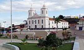 Cícero Dantas - Praça e Igreja Matriz de Cícero Dantas-BA-Foto:valtonandrade