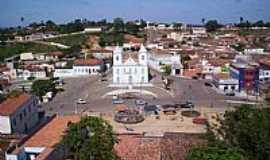 Cícero Dantas - Vista do centro de Cícero Dantas-BA-Foto:Gláucio Almeida