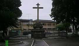 Goiana - Goiana-PE-Cruzeiro em frente à Igreja do Carmo-Foto:Marcus Junior