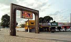 Goiana - Goiana-PE-Pórtico de entrada da cidade-Foto:Orlando de Almeida Calado