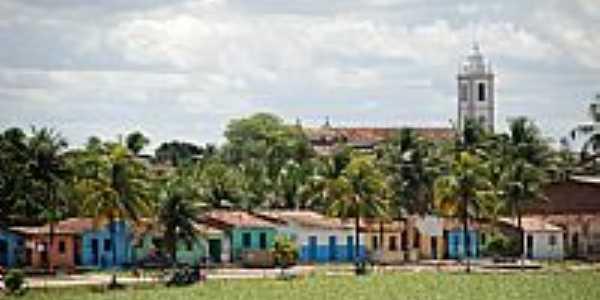 Goiana-PE-Casario na pra�a-Foto:D�cio Sena