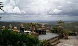 Gravat� - Terra�o do Hotel Fazenda Highlander em Gravat�-PE-Foto:Elio Rocha