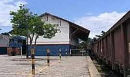 Cinco Rios - Estação Ferroviária-Foto:estacoesferroviarias.com.br