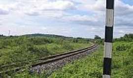 Cinco Rios - Ferrovia-Foto:estacoesferroviarias.com.br