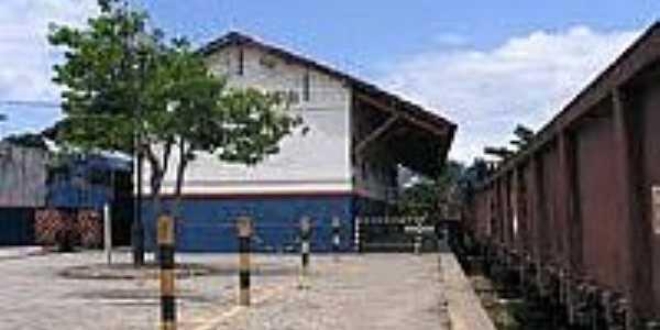 Estação Ferroviária-Foto:estacoesferroviarias.com.br