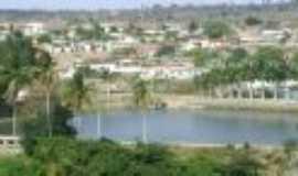 Ibirajuba - Vista do Açude do alto do morro, Por Savio onofre