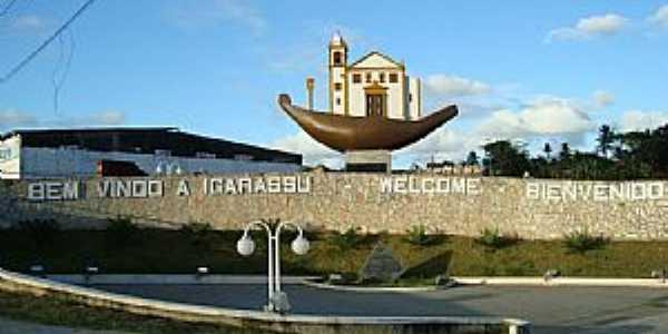 Igarassu-PE-Entrada da cidade-Foto:Toni Abreu