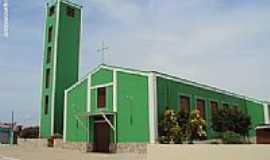 Inajá - Igreja Matriz de N.Sra.da Conceição em Inajá-PE-Foto:Sergio Falcetti
