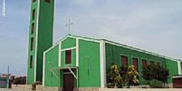 Igreja Matriz de N.Sra.da Concei��o em Inaj�-PE-Foto:Sergio Falcetti
