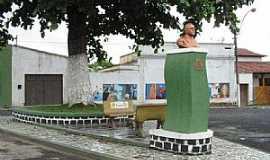 Coaraci - Coaraci-BA-Busto na Praça Régis Pacheco-Foto:Portal Mix
