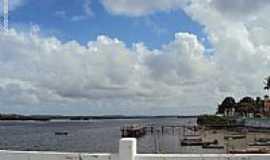 Itamarac� - Canal de Santa Cruz na Ilha de Itamarac�-PE-Foto:Sergio Falcetti