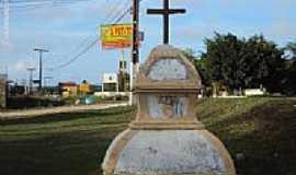 Itamarac� - Cruzeiro da Igreja de S�o Paulo,Forte Orange, na Ilha de Itamarac�-PE-Foto:Sergio Falcetti