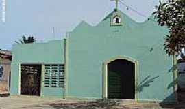 Itamaracá - Igreja de São Sebastião na Praia do Sossego em Ilha de Itamaracá-PE-Foto:Sergio Falcetti