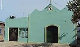 Itamarac� - Igreja de S�o Sebasti�o na Praia do Sossego em Ilha de Itamarac�-PE-Foto:Sergio Falcetti