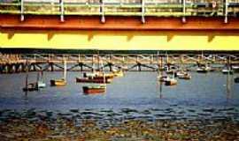 Itapissuma - Ponte no Canal de Santa Cruz-Foto:MonyÉlise