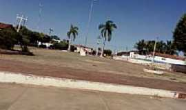 Cocos - Praça no centro de Cocos-BA-Foto:Rômulo Henok