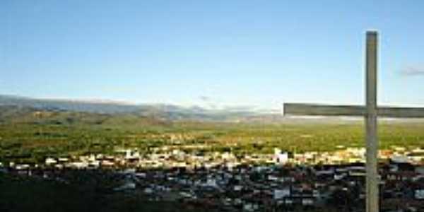 Vista da cidade de Jataúba,à partir do Cruzeiro-PE-Foto:james.patrik