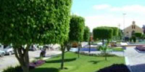 Praça Central. -  Por Aluysio Shekhinah Morais