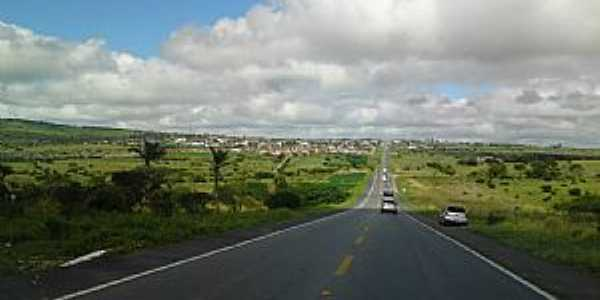 Jupi-PE-Chegando na cidade pela BR-423-Foto:Roberto Almeida
