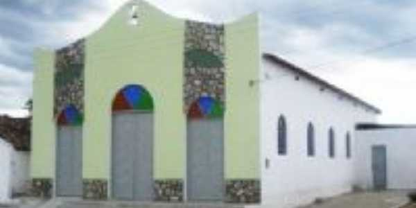capela de snta Rita, no povoado santa rita,jupi, Por K. Barros