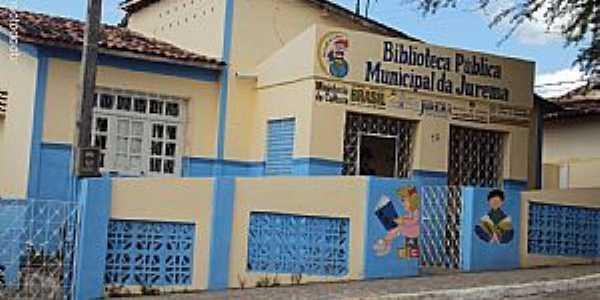 Jurema-PE-Biblioteca Pública Municipal-Foto:Sergio Falcetti