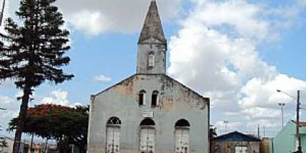 Jurema-PE-Igreja de Santo Antônio no Distrito de Queimada-Foto:Sergio Falcetti