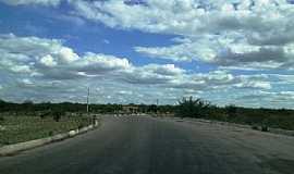 Jutaí - Jutaí-PE-Trevo de acesso na Rodovia BR-122-Foto:Jorge Hirata