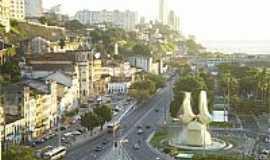 Comércio - Vista do Bairro Comércio-BA-Foto:Wikipédia